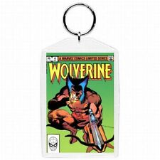 Marvel Comic Book WOLVERINE #4  Cover Keychain