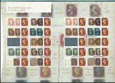 GREAT BRITAIN 2016 175th anniversario dell' Penny Red Smilers foglio Unmounted MT