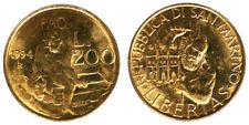 200 Lire 1994 FAO Lotta Contro la Fame San Marino #1944
