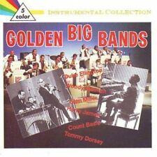 Golden Big Bands-Instrumental Collection (1988) Count Basie, Tommy Dorsey.. [CD]