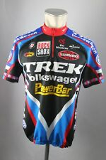Trek Volkswagen Powerbar Rad Trikot ca L / XL  BW 56cm Bike cycling jersey S5