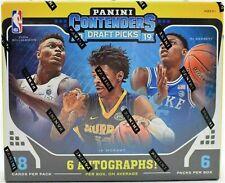 2019-20 PANINI CONTENDERS DRAFT PICKS BASKETBALL HOBBY BOX FACTORY SEALED NEW