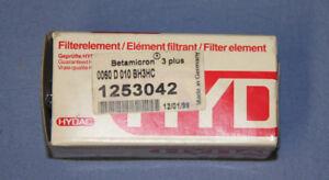 Hydac Filterelement Filter 1253042 0060D010BH3HC Betamicron  NEU OVP