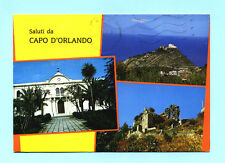 CARTOLINA SALUTI da CAPO D'ORLANDO  postcard-carte postale-postkarte cartoline