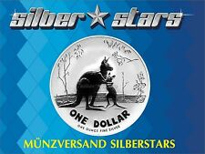 1 DOLLAR Silber Känguru / Kangaroo 2007 1 OZ RAR !!!
