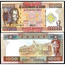 GUINEA 1000 Francs 2010 Commemorative UNC P 43