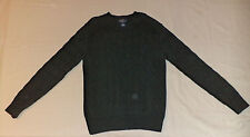 POLO BY RALPH LAUREN LONG SLEEVE GREEN PULLOVER SWEATER         M     K#3826