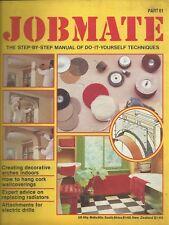 JOBMATE 61 DIY - INDOOR ARCHES. CORK WALLCOVERINGS. REPLACING RADIATORS. DRILLS