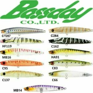Brand New - Bassday Sugapen 70F 70 mm Floating Surf Fishing Lure Popper Whiting