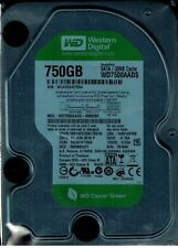 LOT OF 6 750GB  WESTERN DIGITAL  3.5 SATA 7200RPM  WD7500AADS-00M2B0  TESTED