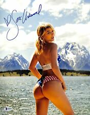 Sara Jean Underwood Signed 11x14 Photo BAS Beckett COA Playboy Picture Autograph