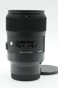Sigma AF 35mm f1.4 DG Art HSM Lens Sony E Mount #157