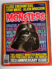 Famous Monsters #142 20th Anniversary Issue Star Wars Close Encounters Apr. 1978