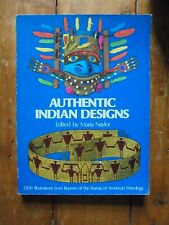 AUTHENTIC INDIAN DESIGNS by Taylor 1975