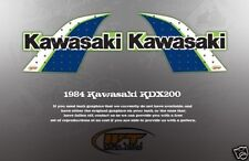 VINTAGE LIKE NOS KAWASAKI 1985 (maybe 1984 crossover) KDX200 DECALS GRAPHIC