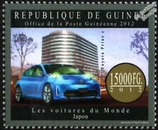 Toyota Prius c (ciudad/Aqua Sello de coche japonés híbrido) (2012 Guinea)
