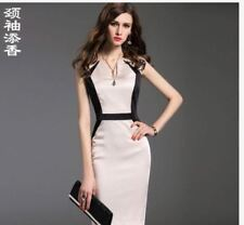 LADIES CASUAL SEXY DRESS JLH  - WHITE