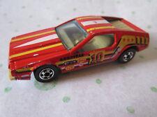 1979 Mattel Hot Wheels Red Ferrari Turismo Arrow Tail-lights #10 Sports Car HK