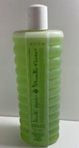 Vintage Avon Bubble Bath NOS Green Apple 24 ounces New Old Stock