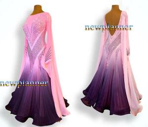 ML 1054 Women Ballroom Tango Waltz Standard Smooth Competition Dance Dress