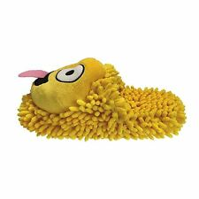 Aroma Home Fuzzy Friends Slippers Smiley Emoji Face 4-7