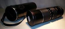 Macro Zoom Objectif Travenar 85 mm - 205 mm 1:3,8 58 Pour appareil photo Minolta