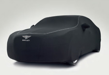 FS16656F5 Black Covercraft Custom Fit Car Cover for Select Bentley Continental Flying Spur Models Fleeced Satin