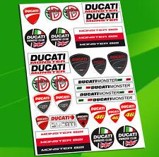 Planche 31 Autocollants Auto Motorspot Tuning Motard Stickers Ducati Corse D 16