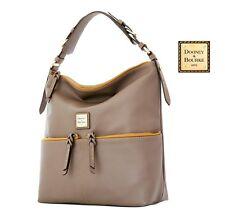 Dooney & Bourke Seville Callie 100% cowhide leather shoulder bag in Taupe NWT