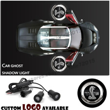 Ford Shelby Mustang GT500 Logo Car LED Door Laser Projector Ghost Shadow Lights