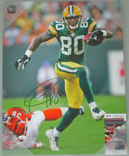 Packers DONALD DRIVER Signed 16x20 Stretched Sports Canvas #14 AUTO - JSA