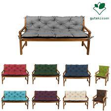 Coussins pour Banc, Swing, Bench, Mobilier de jardin out/indoor, Siège+Appui L