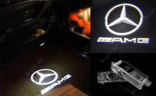 2x Mercedes Benz AMG Cortesía Puerta Charco cree láser con logotipo de luz LED Proyectores