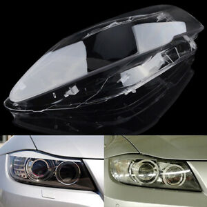 Car Headlight Headlamp Clear Lens Cover For BMW E90/E91 3-series Right Passenger