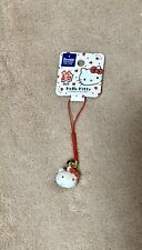 SANRIO HELLO KITTY CHARM WITH BELL -  Japanese Cell Phone Charm  Girls/Teens