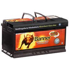 BANNER Running Bull 105AH 12V 60501 AGM Autobatterie Start Stop ersetzt 110Ah