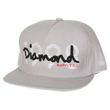 DIAMOND SUPPLY CO OG 1998 GREY SNAPBACK CAP