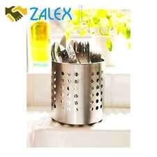 IKEA Cutlery Caddy Utensil Kitchen Holder Organizer Stainless Steel Pack NEW