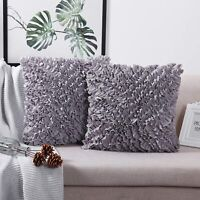 Decorative Throw Pillow Covers (Set of 2) - Pillow Cover Sham Cover