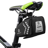 1.5L Waterproof Cycling Bicycle Saddle Under Seat Bag Road MTB Bike Pack Pouch
