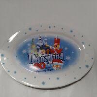 Disneyland 60th Anniversary Serving Plate Rare Walt Disney Diamond Celebration