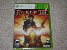 FABLE III....***XBOX 360****ORIGINAL COVER***SEALED***BRAND NEW***!!!!!!