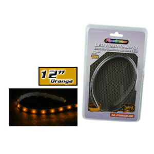 "Nippon Nlf512Cbor Audiopipe Pipedream 12"" Led Flexible Strip Orange"
