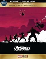 Avengers Age of Ultron Blu-ray/Digital Copy Steelbook Best Buy Exclusive NEW
