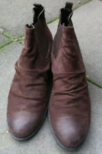 PAUL GREEN braune Stiefel Gr.7/ca.40,5 Nubukleder Boots