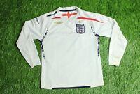 ENGLAND NATIONAL TEAM 2007-2009 FOOTBALL SHIRT JERSEY HOME UMBRO ORIGINAL YOUNG