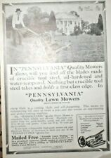 1915 Advertising page Pennsylvania Lawn Mowers & Williams personal care