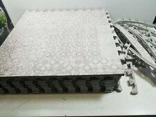 72 x 72 inch Comfortable Cushiony Foam Floor,10 tiles- Khaki