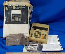 Vintage Texas Instruments Ti-3000 Electronic Calculator Ti - Desktop 1970's in