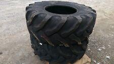 2 NEW Solideal Backhoe Tires SLA R4 - 21LX24 - 21L-24 - 21X24 - HEAVY DUTY